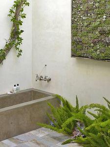 оригинальная ванна минимализм хай-тек