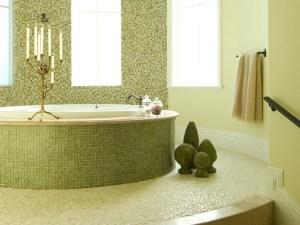 оригинальный интерьер ванной