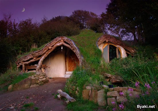 Хоббитский домик