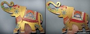 роспись акрилом слоники из фанеры