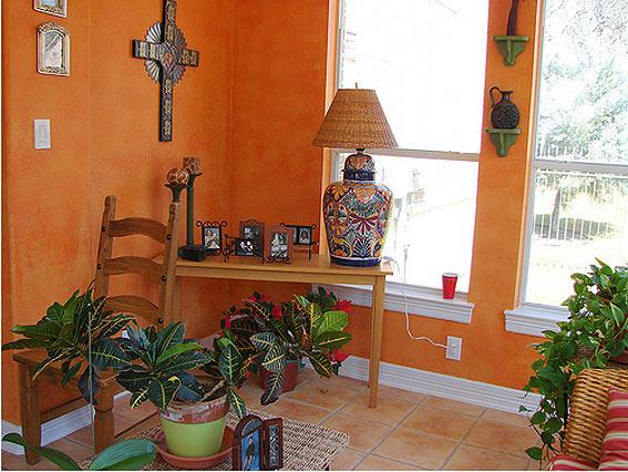 интерьер в мексиканском стиле