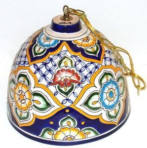 колокол с мексиканской росписью