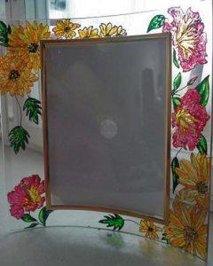 витражными красками роспись по стеклу
