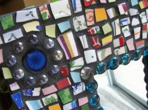 рамка с мозаикой
