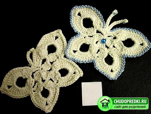 Изящная бабочка с бисером
