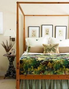 спальня в кантри стиле