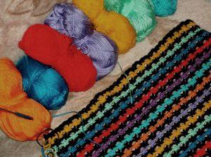 вязание крючком в этническом стиле