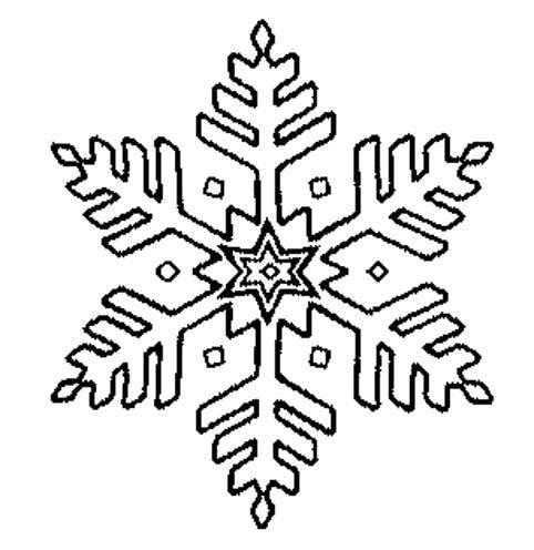 бесплатные трафареты снежинок