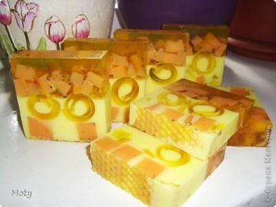 медовое мыло мастер класс