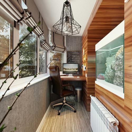 Дизайн интерьера на вашем балконе