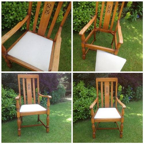 Реставрация старого стула 2-1