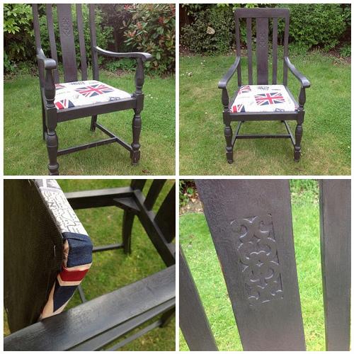 Реставрация старого стула 2