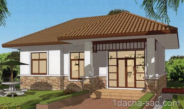 проект дома 10 на 10 м