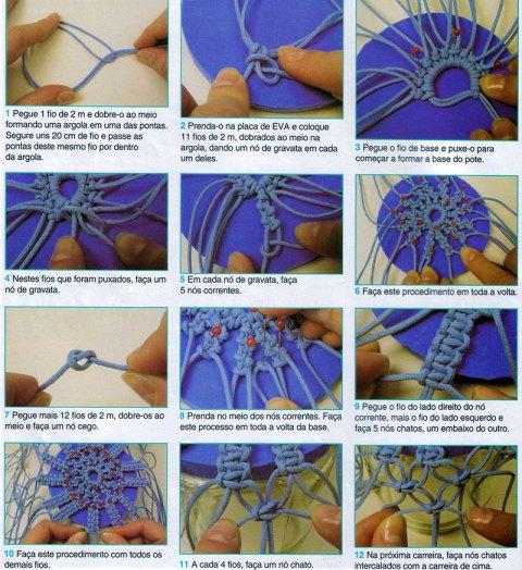 Техника плетения макраме для начинающих