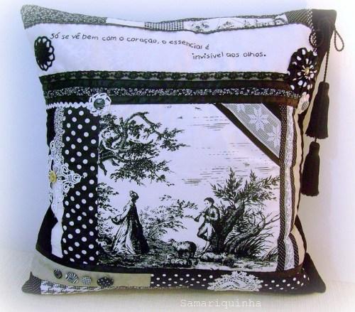 Идея подушки с рисунком
