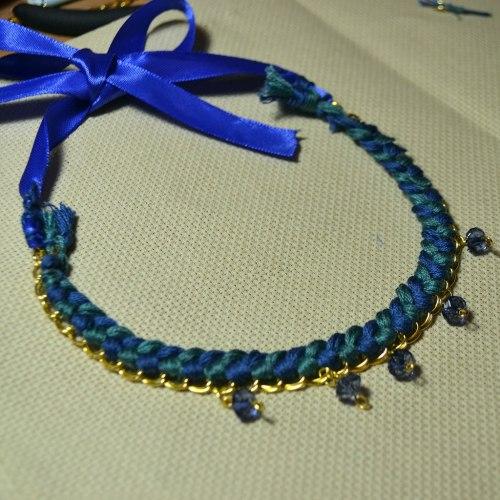 Ожерелье своими руками - мастер класс