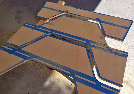 Детали столика для пикника