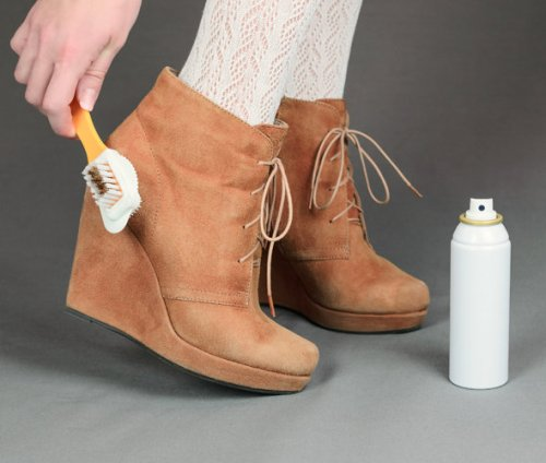 Как замшевую обувь сделать кожаной