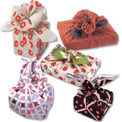 Фурошики - японские сумки узелки