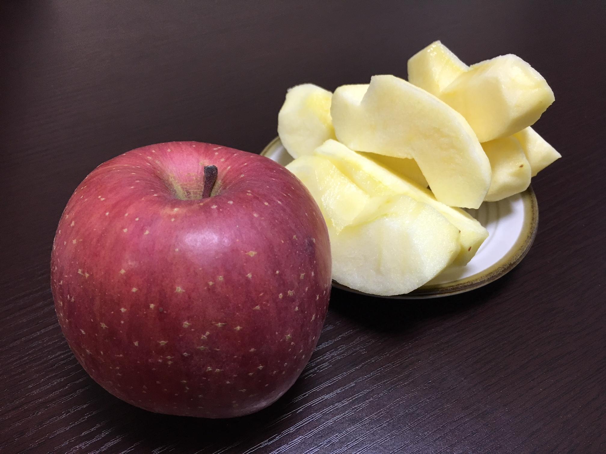 【3時のおやつ】りんごといえばサンフジ!?