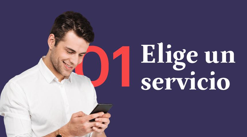 01 Elige un servicio