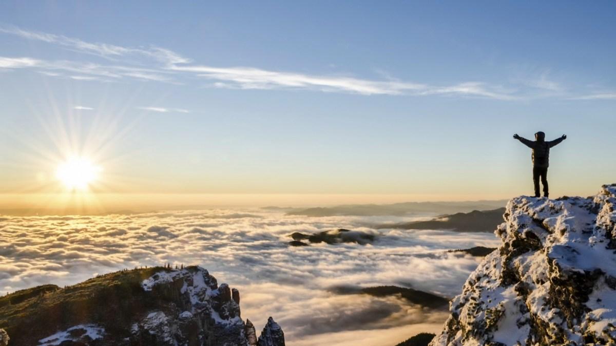 Mountain View of Accomplishment