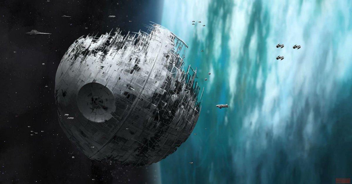 Damaged Death Star