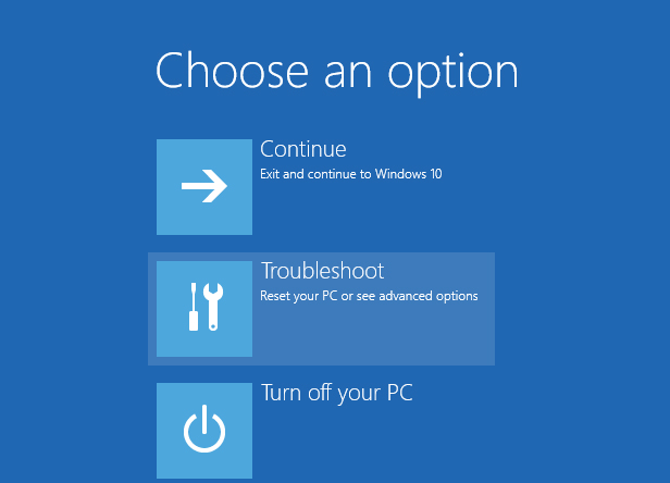 2. Reset your PC