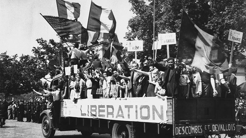Image result for liberation of paris