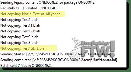 Output of pkgxfermgr.log