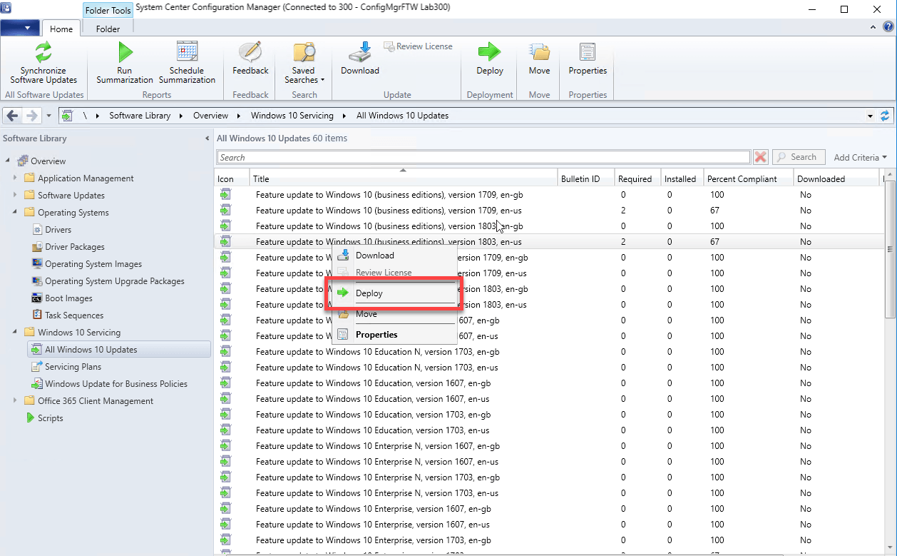 Servicing Plans in Configuration Manager - ConfigMgrFTW!