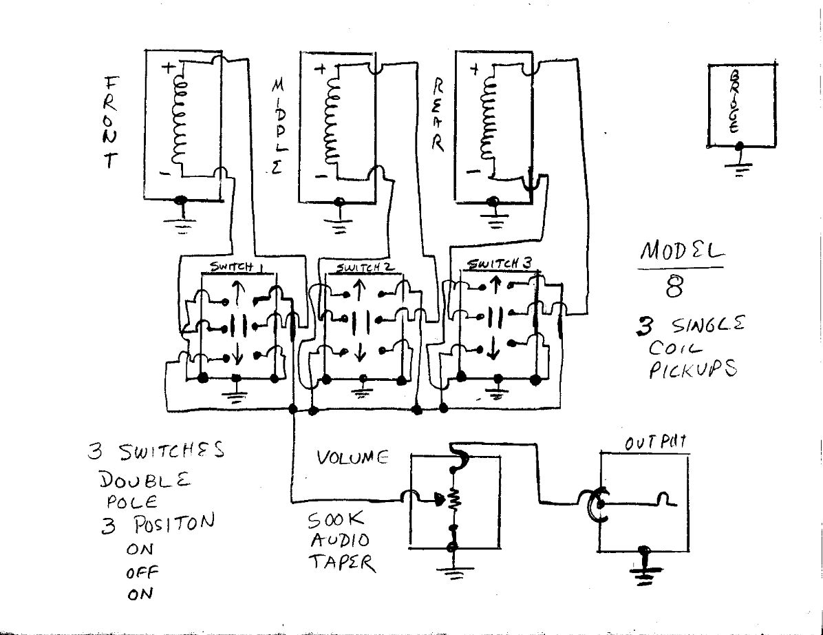 Mosrite wiring diagram wiring diagrams