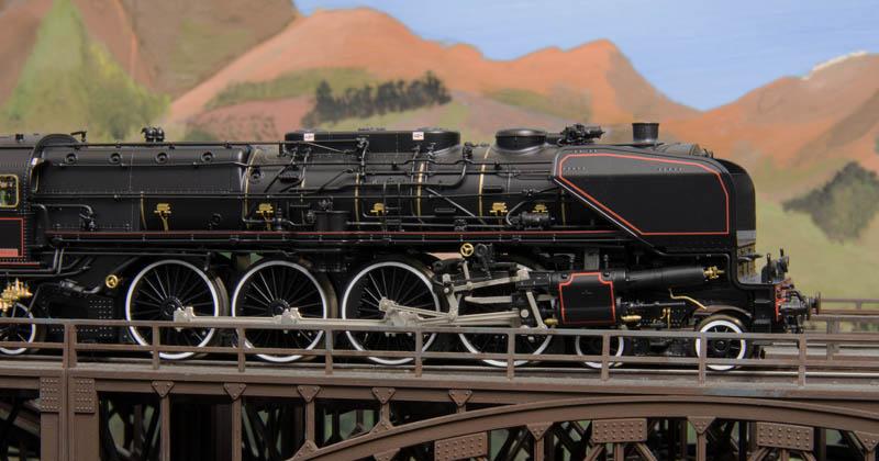 Piet Brijs Model Railroad Page The Engines Sncf 241 A 65