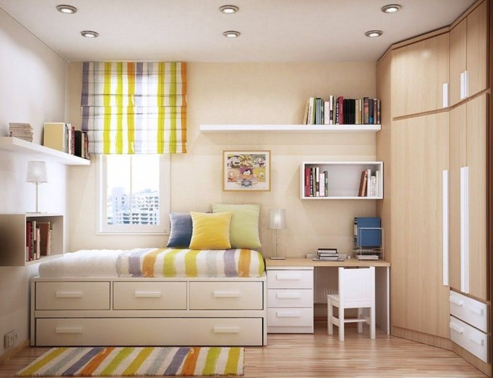 how to make the most of a small bedroom - home / planetfem
