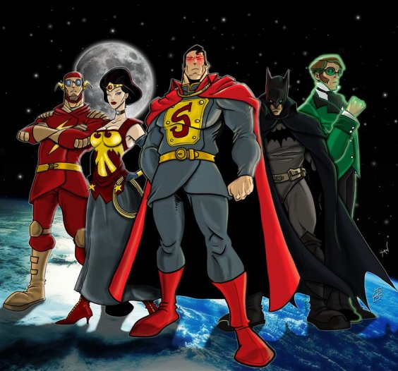 JLA_by_Gaslight_by_drvce