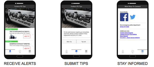 tip411 mobile screenshot