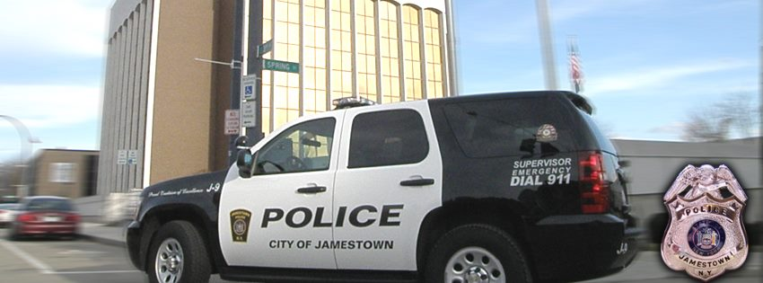 City of Jamestown police car