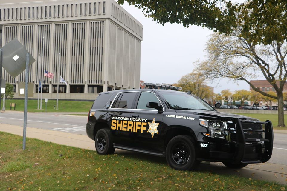 Macomb County Sheriff cruiser