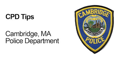 Cambridge, MA Police Department tips