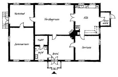 แบบบ้านสองชั้น ท่ามกลางความเรียบง่าย