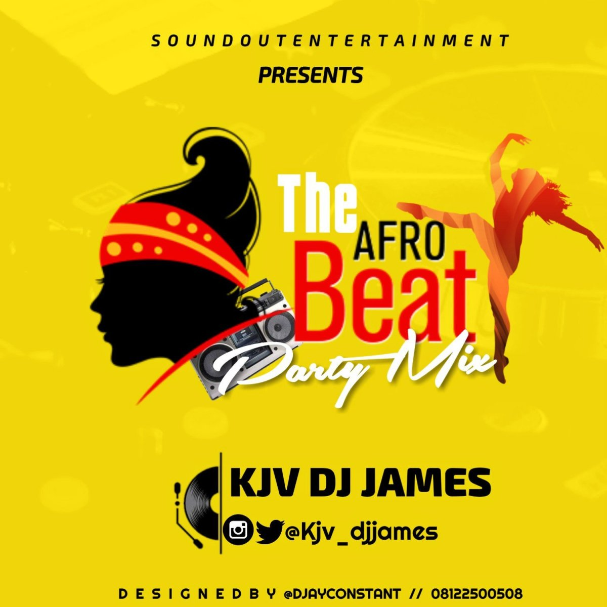 "MiXTAPE: KJV DJ James - ""The Afrobeat Party Mix"""