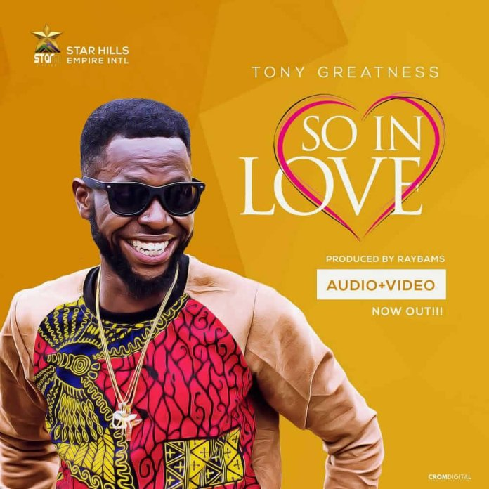 VIDEO: Tony Greatness - So In Love (With Jesus) (Prod by Raybams) 2