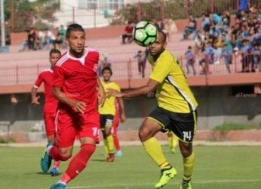 مباراة لفريق أهلي غزة
