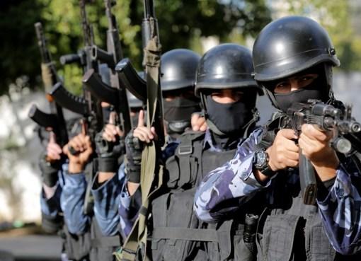 الشرطة الفلسطينية في الخليل