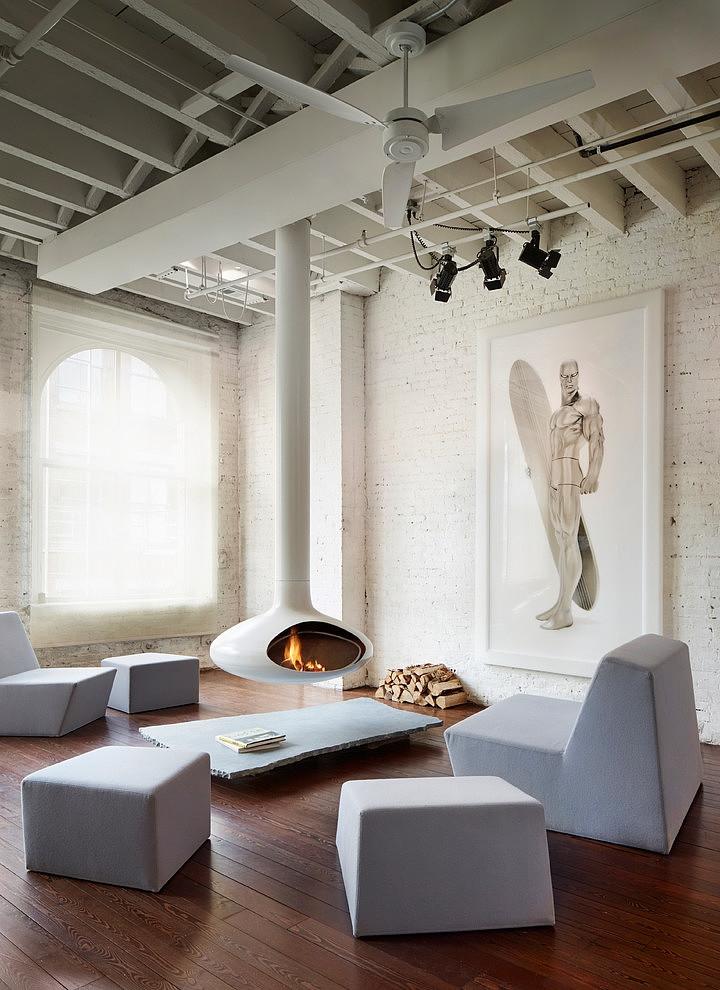 SoHo Penthouse By SA DA Architecture HomeAdore