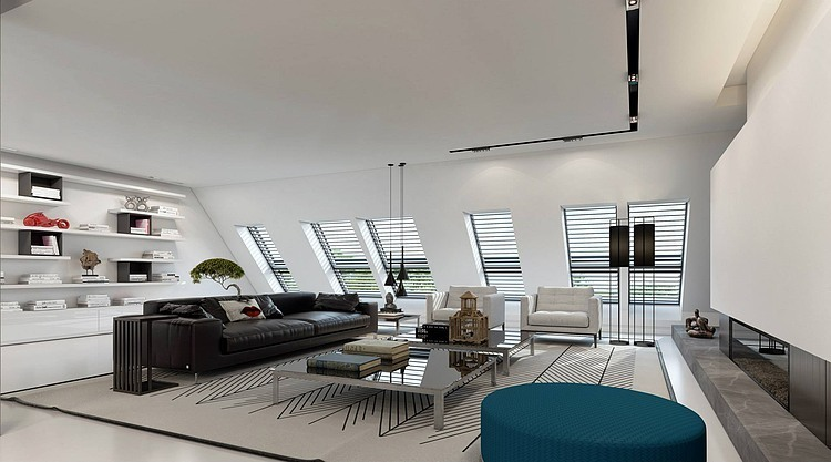 Dsseldorf Apartment By Ando Studio HomeAdore