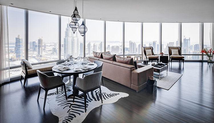 Burj Khalifa Apartment By Zen Interiors HomeAdore