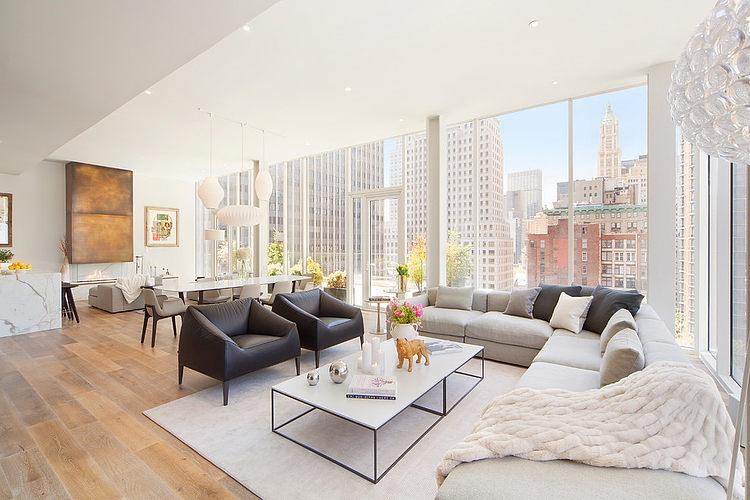 Tribeca Penthouse By B Interior HomeAdore