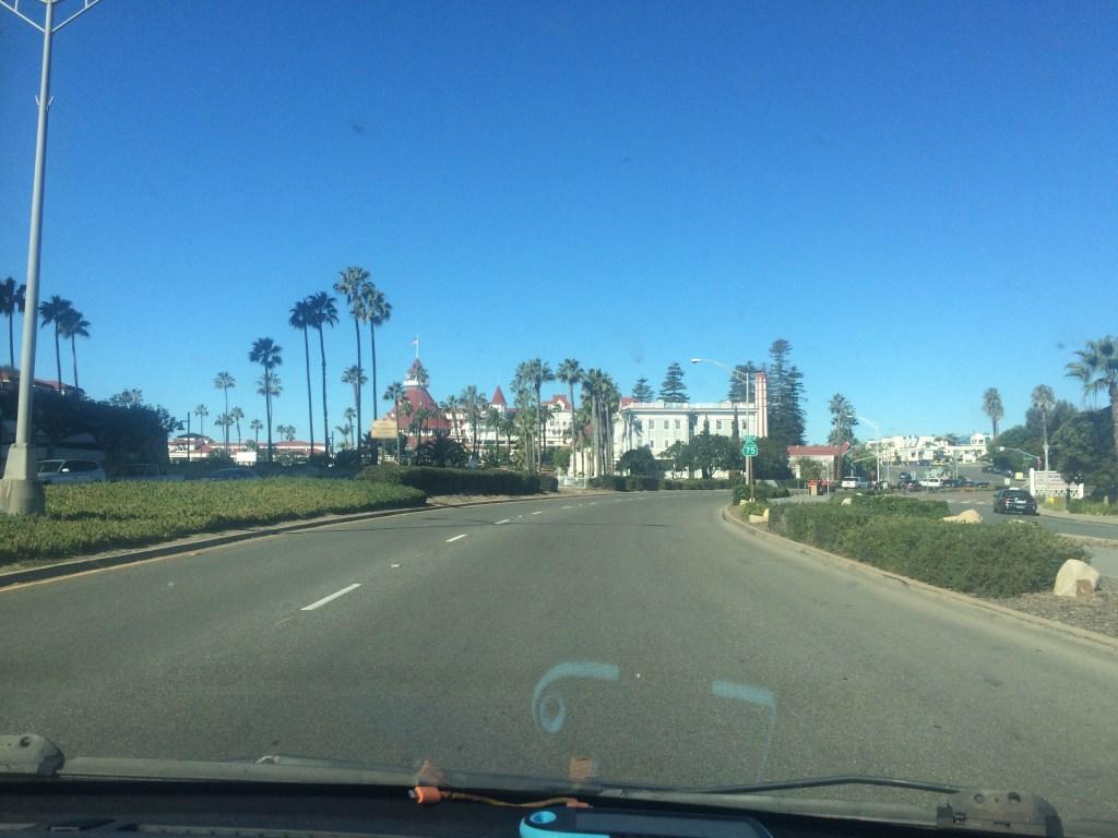 Hotel Del Coronado Approach