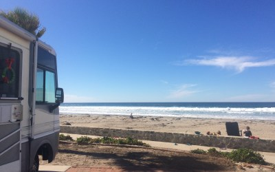 Clam Beach RV Park Between Rosarito & Ensenada Baja California Mexico